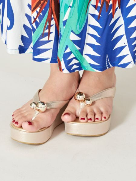 Chunky Thong Sandals