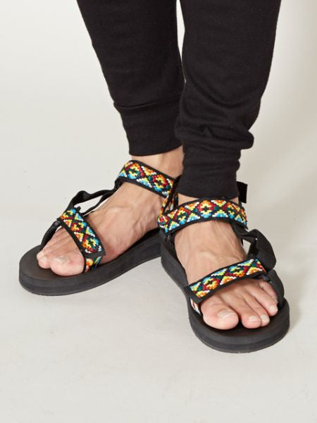 GEOM Tape Sandals-Ametsuchi