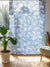 Hawaiian Motif Sheer Curtain 178cm