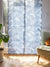Hawaiian Motif Sheer NOREN Door Curtain