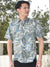TWO PALMS Leaf HAWAIIAN Shirt