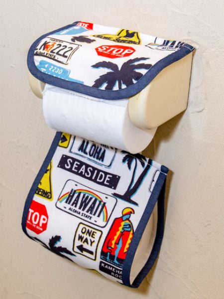 Hawaiian Signs Toilettenpapierhalter