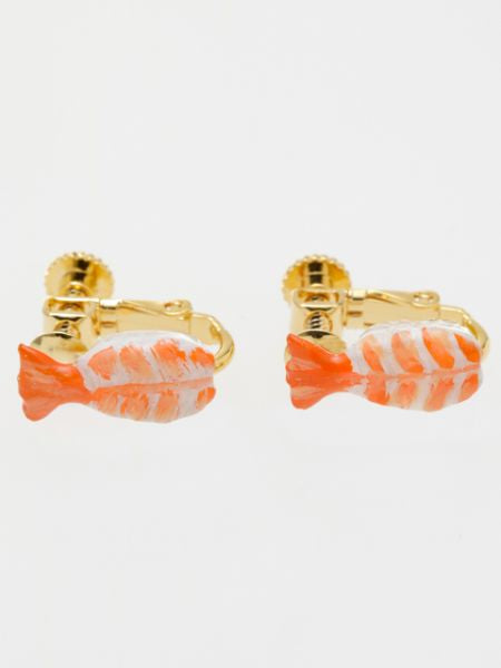 SUSHI Clip Earrings-Ametsuchi