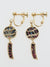 FURIN Wind Chime Clip Earrings