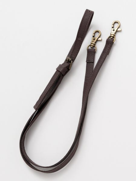 Flat Leather Strap for GAMAGUCHI