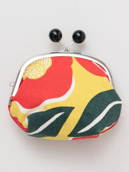 Colourful Camelia GAMAGUCHI Purse-Ametsuchi