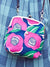 Large Colorful Camelia GAMAGUCHI Shoulder Bag