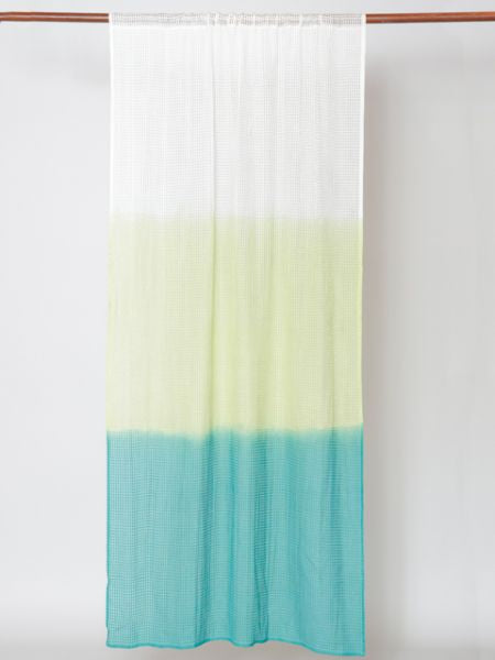 Gradient Dip Dye Curtain 200cm-Home Decor-Ametsuchi