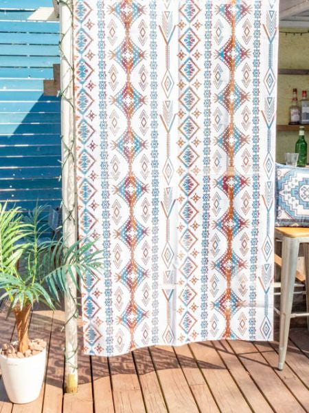NAVAJO Sheer NOREN Curtain 178cm