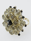 Glass Flower Ring-Ametsuchi