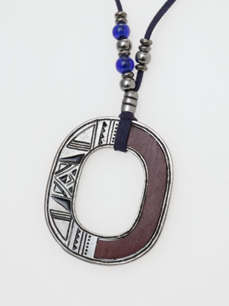 TUAREG Inspired Statement Necklace-Necklaces-Ametsuchi
