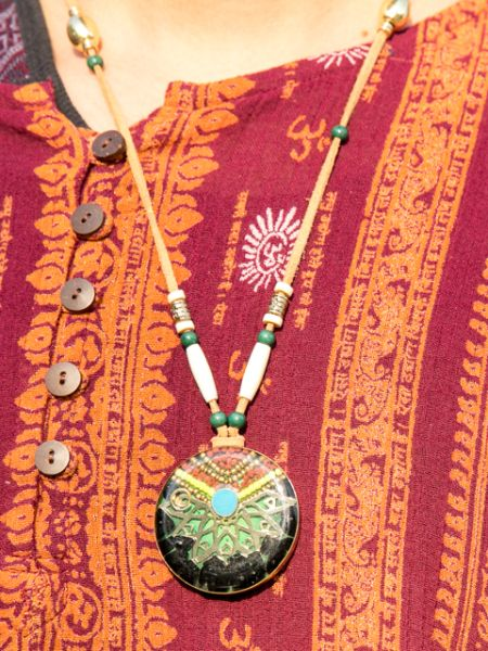 Dreamcatcher ORGONITE Necklace-Necklaces-Ametsuchi