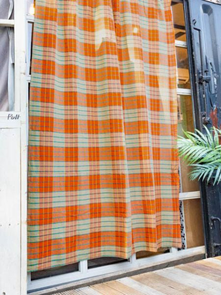 MAASAI SHUKA Plaid Style Bed Cover Multi Cloth