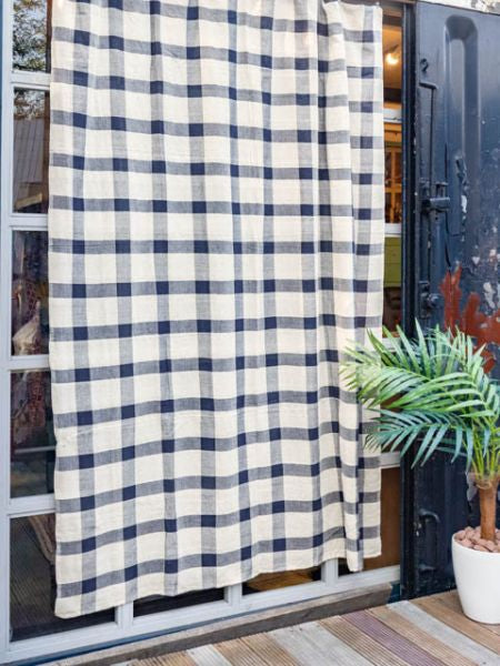 Plaid Pattern Bettdecke Multi Cloth-Ametsuchi