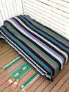 Pola Garis Multi Kain Bed Cover-Ametsuchi
