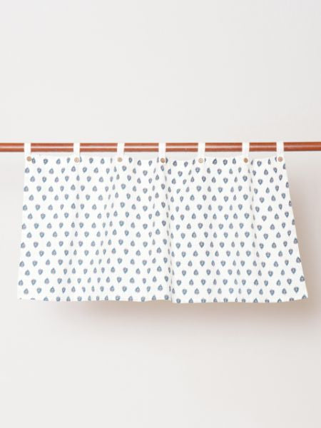 Provence Pattern Cafe Curtain-Ametsuchi