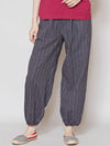 Indian Cotton Stripe MONPE Pants