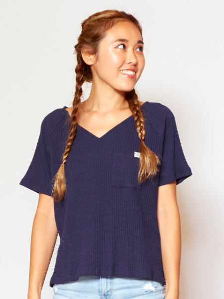 Shortsleeve Rib Top