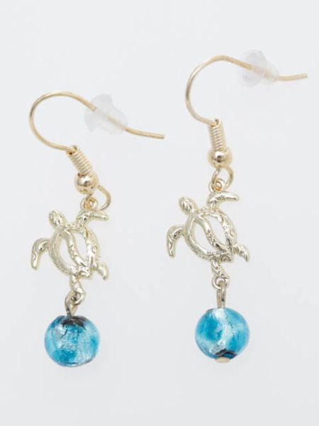 LANIKAI HONU Earrings-Ametsuchi