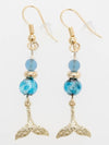 LANIKAI Whale Tale Earrings-Ametsuchi