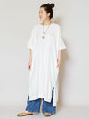 Cotton Kaftan Dress-Ametsuchi