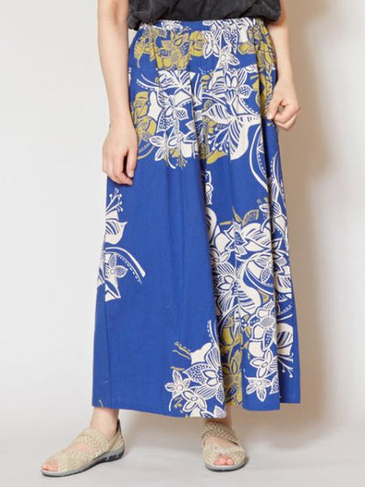 Floral Palazzo Pants-Ametsuchi