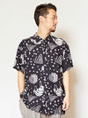 SENUFO Art Inspired Men's Shirt-Shirts-Ametsuchi