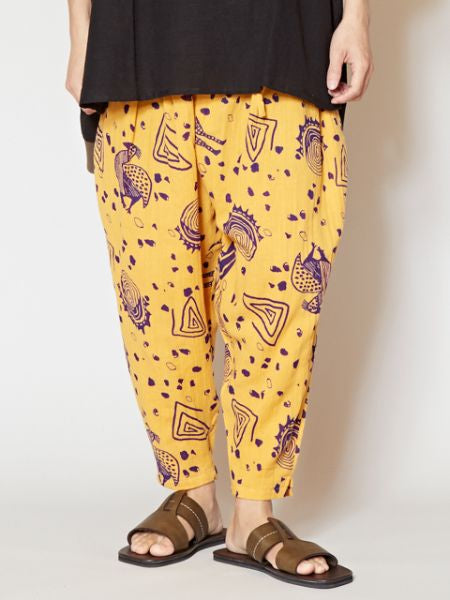 SENUFO Art Inspired Jodhpur Pants