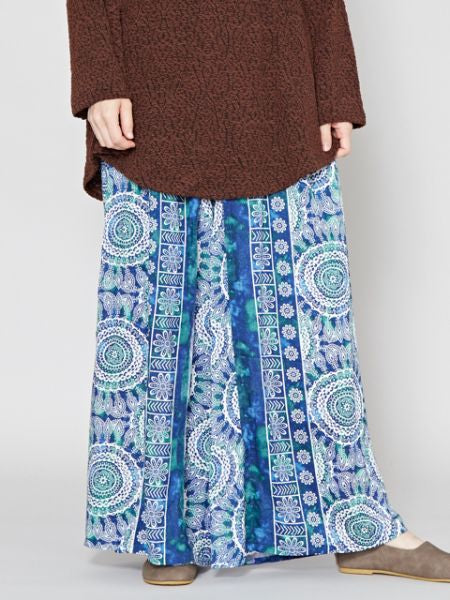 MANDALA Pattern Wide Leg Pants