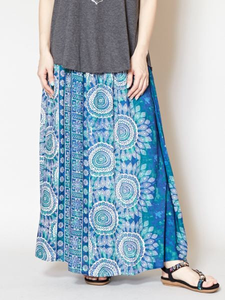 Gradient MANDALA Skirt