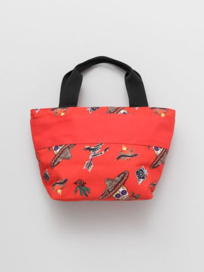 Calavera Pattern Small Hand Bag