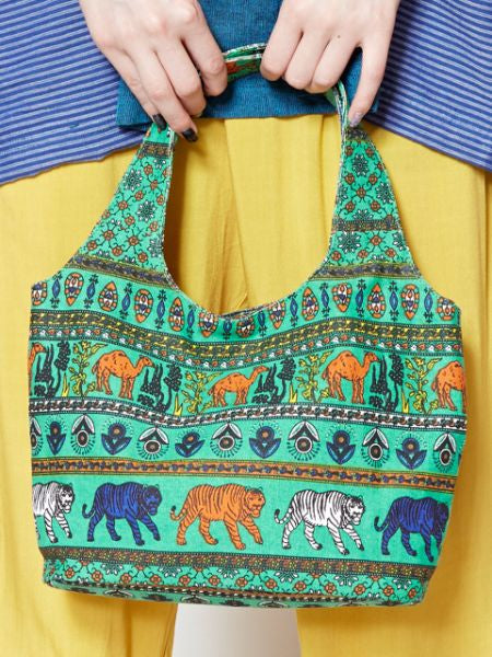 Modern Ethnic Pattern Small Hand Bag