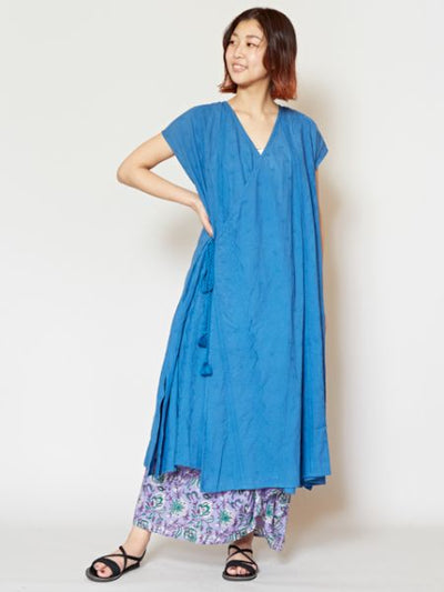 Convertible Crossover Dress Cardigan-Ametsuchi