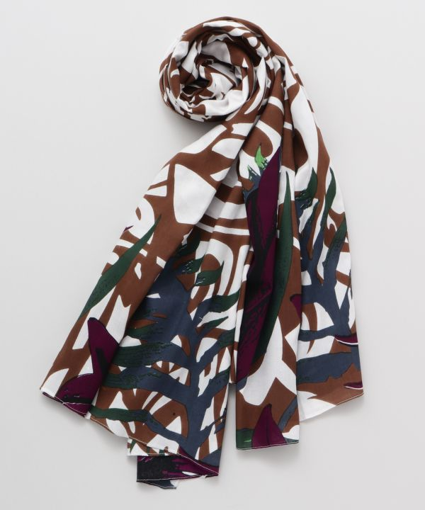 Tribal x Botanical Sarong Scarf