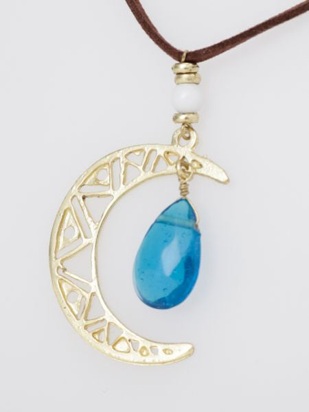Collier Lune -Colliers-Ametsuchi