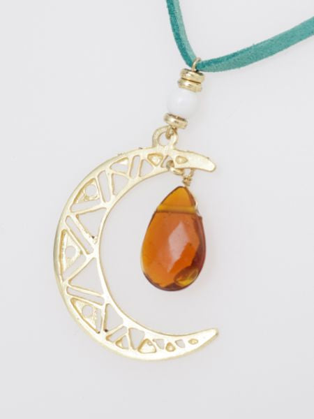 Moon Necklace-Necklaces-Ametsuchi