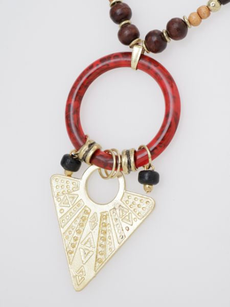 Egyptian GEOM Inspired Necklace -Necklaces-Ametsuchi