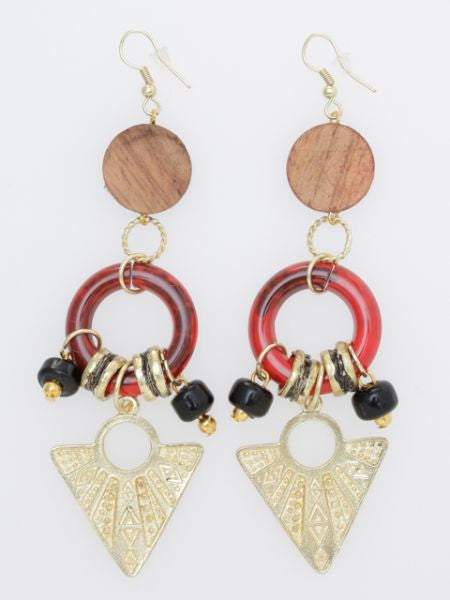 Egyptian GEOM Inspired Earrings
