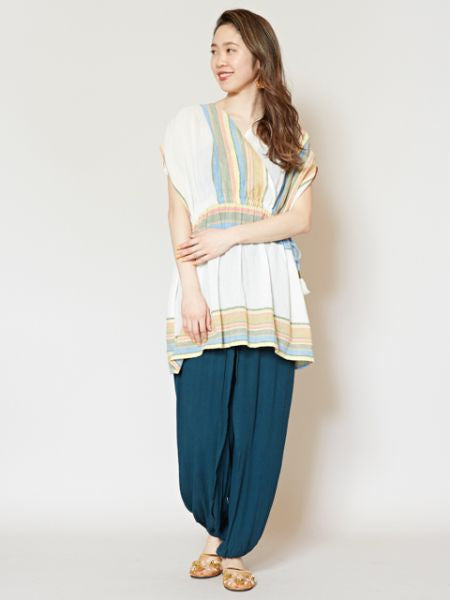 Indian Cotton Crossover Tunic