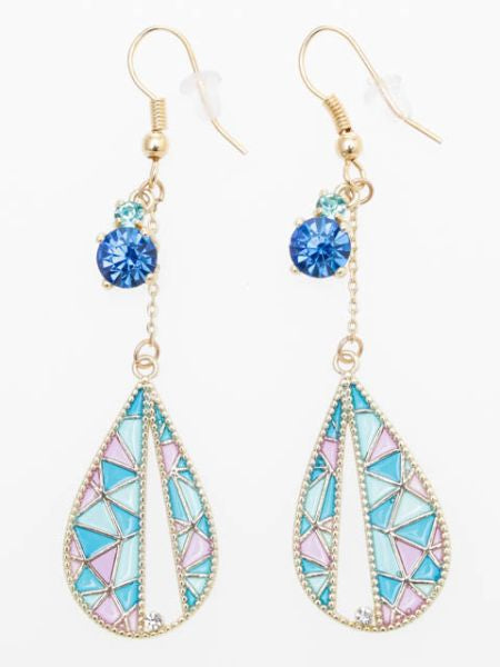 GEOM Charm Earrings-Ametsuchi