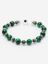 KOKORODO-8mm Green Tiger Eye Bracelet-Ametsuchi