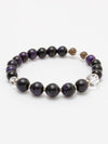 SUIJIN-10mm Purple Tiger Eye Bracelet-Ametsuchi