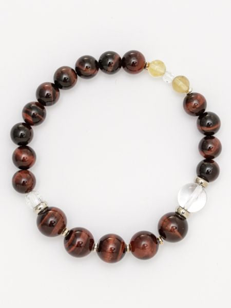 SUIJIN-10mm Red Tiger Eye Bracelet-Ametsuchi