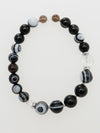 SHOUSHA-10mm Eye Agate Bracelet-Ametsuchi