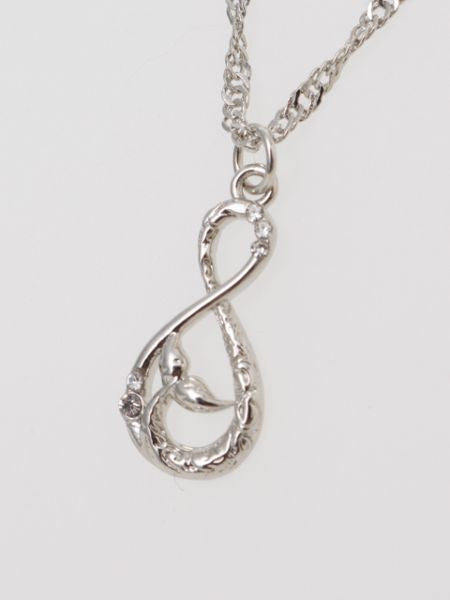Infinity Whale Tale Necklace-Ametsuchi