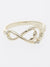 Bague Infinity Whale Tale