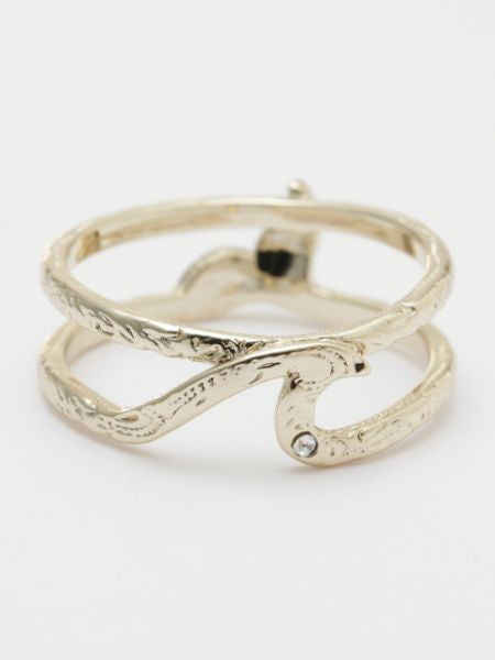 Wave Whale Tale Ring-Ametsuchi