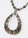 Tribal Tattoo Inspired Necklace-Ametsuchi