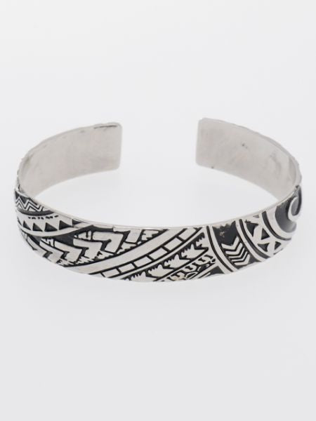 Tribal Tattoo Inspired Bangle