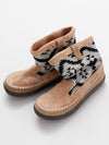 GEOM Pattern BOHO Short Boots-Shoes-Ametsuchi
